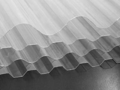 ورق پلی کربنات موجدار
